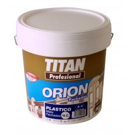 TITAN TINTA PLASTICA FACHADA MATE A4 BRANCO - 15LT