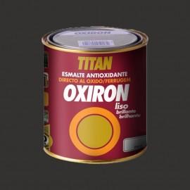 TITAN OXIRON LISO NEGRO - 750ML