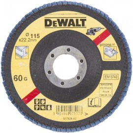 DEWALT DISCO LAMELADO 115mm GRAO 60 CONC DT3256-QZ
