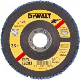DEWALT DISCO LAMELADO 125mm GRAO 36 CONC DT3265-QZ