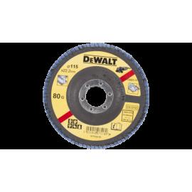 DISCO LAMELADO 115mm GRÃO 80 CONC - DT3257-QZ