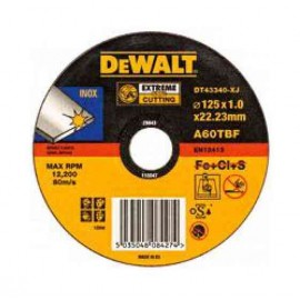 DEWALT DISCO CORTE INOX 125 DT43340-XJ