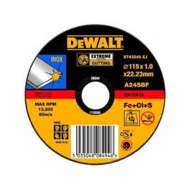 DEWALT DISCO CORTE INOX 115mm DT43240-XJ