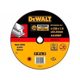 DEWALT DISCO CORTE METAL 230 DT43600-XJ