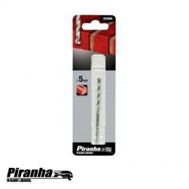 PIRANHA BROCA P/ALVENARIA TCT 5mm X53085-QZ